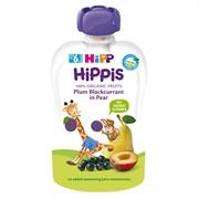 HiPP喜寶 有機布冧黑加侖子洋梨唧唧裝(3件)