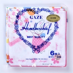 Gaze 嬰幼兒手帕(6件裝) 839-6