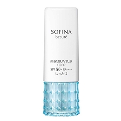 SOFINA美白高保濕活膚防曬乳液SPF50+ PA++++(滋潤型)30g 4901301325358
